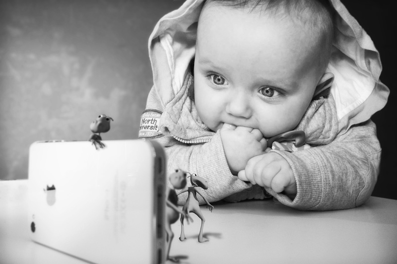 Retrat de nens. Carles Carreras, Fotògraf