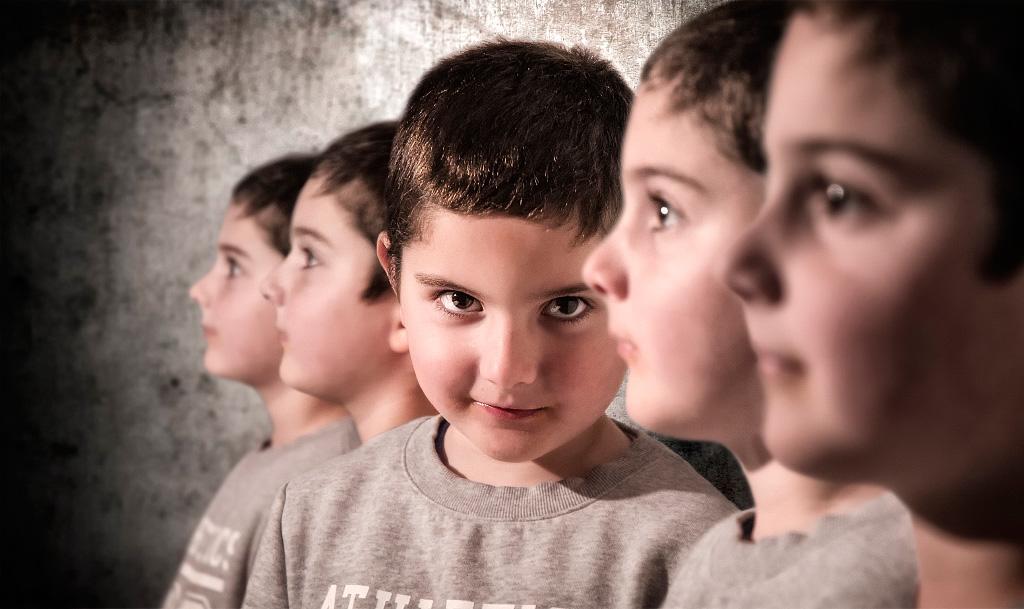 Foto Retrat. Carles Carreras Fotografia de nens